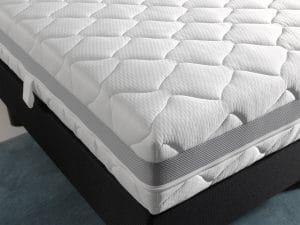 Matras 3D Infinity Nasa / Traagschuim, pocketveer, comfortschuim, dikte 21 cm, goede ondersteuning rug, goede luchtcirculatie, goede ventilatie, fris, anti allergisch, afneembare hoes met rits, anti huisstofmijt, beiden kanten beslaapbaar, vrij van schadelijke CFK gassen, geschikt voor boxsprings, geschikt voor lattenbodems, aanbieding, goedkoop geprijst, matras goede kwaliteit door 7 comfort zones, 70 x 200, 80 x 200, 80 x 210, 90 x200, 90 x 210, 90 x 220, 120 x 200, 140 x 200, 160 x 200, 180 x 200, 180 x 210, 180 x 220