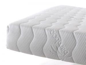 Matras 9 Comfort Bamboo HR, pocketveer, comfortschuim, dikte 21 cm, goede ondersteuning rug, goede luchtcirculatie, goede ventilatie, fris, anti allergisch, afneembare hoes met rits, anti huisstofmijt, beiden kanten beslaapbaar, vrij van schadelijke CFK gassen, geschikt voor boxsprings, geschikt voor lattenbodems, aanbieding, goedkoop geprijst, matras goede kwaliteit door 9 comfort zones, 70 x 200, 80 x 200, 80 x 210, 90 x 200, 90 x 210, 90 x 220, 120 x 200, 140 x 200, 160 x 200, 180 x 200, 180 x 210, 180 x 220, garantie