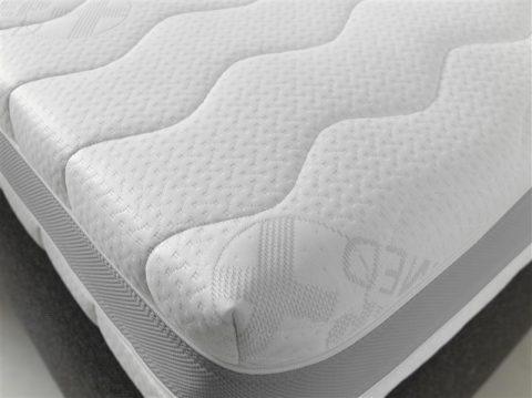 Matras 3D air pocket matras, pocketveer, HR schuim, dikte 21 cm, goede ondersteuning rug, goede luchtcirculatie, goede ventilatie, fris, anti allergisch, afneembare hoes met rits, anti huisstofmijt, beiden kanten beslaapbaar, vrij van schadelijke CFK gassen, geschikt voor boxsprings, geschikt voor lattenbodems, aanbieding, goedkoop geprijst, matras goede kwaliteit door 9 comfort zones
