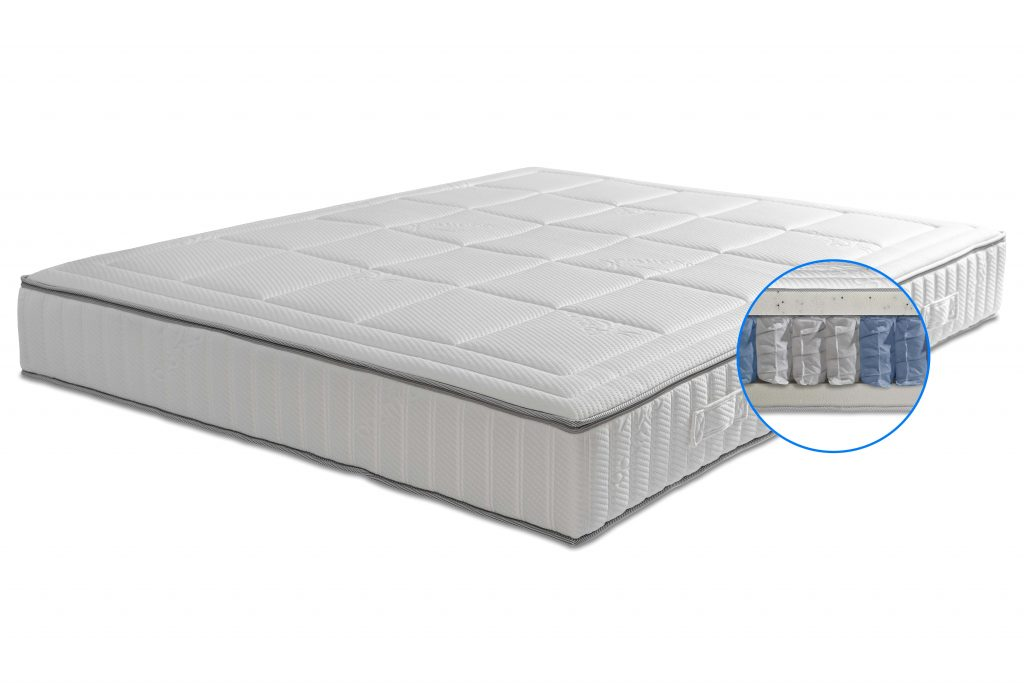 Matras koudschuim voor zwaardere mensen tot 150 kg Premium HR_2