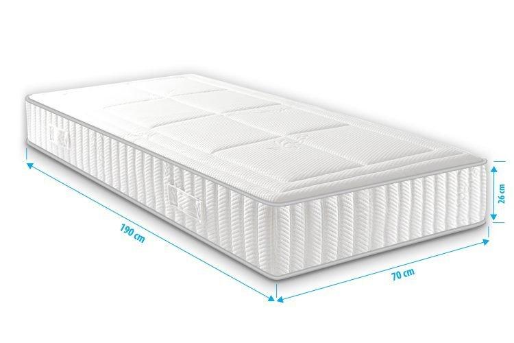 Matras gel foam 70x190 Infinity Airmaxx